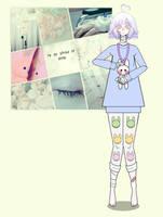kisekae challenge - aesthetic kid by IzumiTea