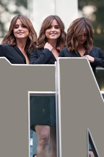 Jennas Coleman Triplets-Public Greet by clone-enthusiat