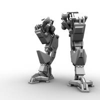 Robot Legs Concept by ArTomsey