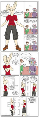 The Outfit - Furry Experience fancomic.