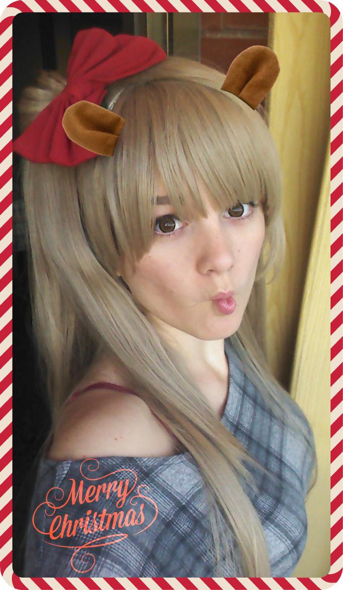 Christmas Kotori by MissMisaCosplay