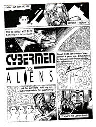 Cybermen vs Aliens