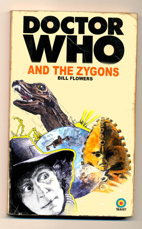 Book Covering Contact Target : Fake target book cover zygons by snake artist on deviantart