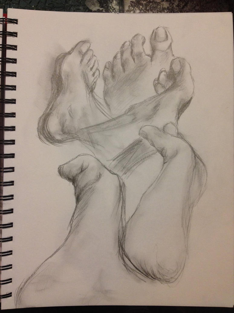Foot study by isabelle96