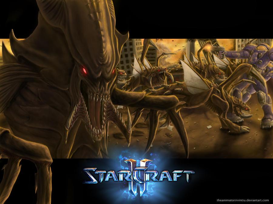 starcraft 2 fan art