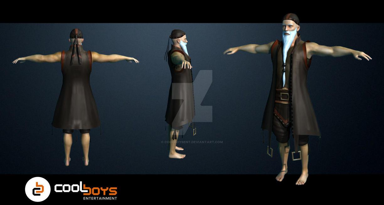 Commission 3d model wizard 2 by coolboysent on deviantart for Deviantart 3d models