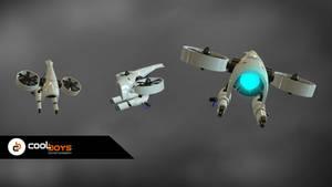 Commission: 3d Model flying robot
