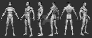 3d model male ^^