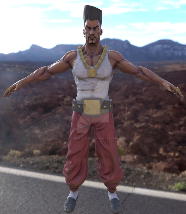 Commission: 3D model game character