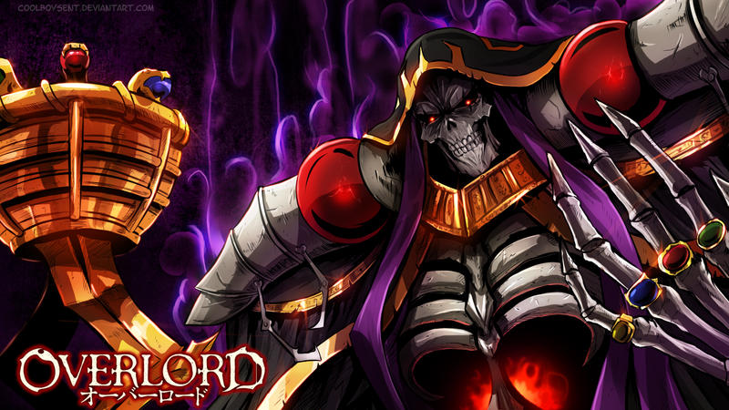Overlord (with drawing video) by CoolBoysEnt