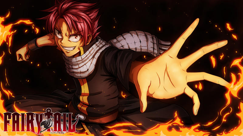 Natsu Fairy tail (with drawing video) by CoolBoysEnt