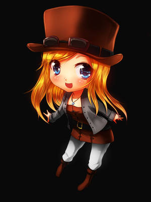 Chibi Girl 2 by CoolBoysEnt