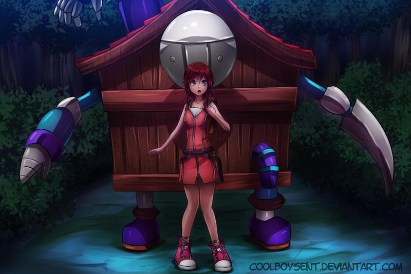commission kairi and hell house by CoolBoysEnt
