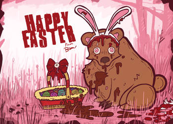 HAPPY EASTER FROM THE EASTER BERRR!!! by BR3AR