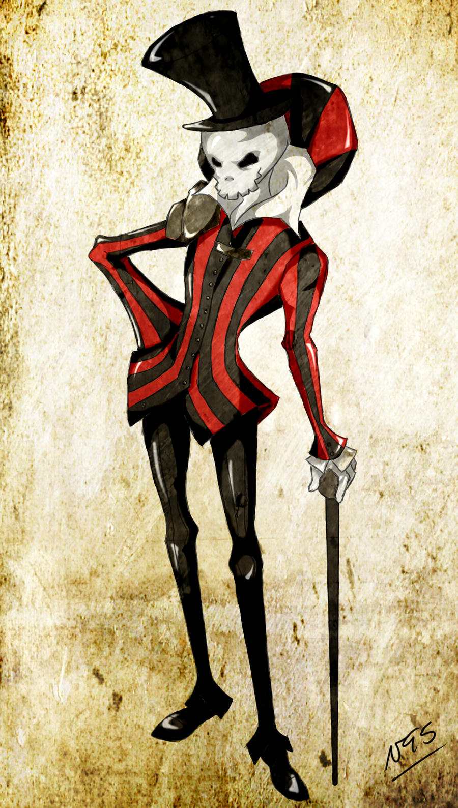 Scary - Circus' Illusionist by nachuu95 on DeviantArt