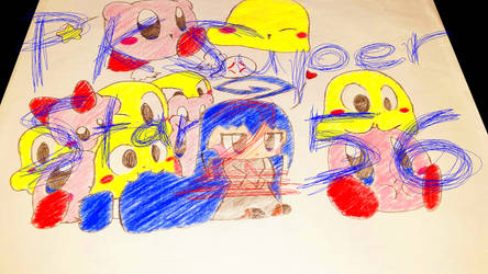 Kirby, Tsumiki, and Sora! (My First DA Picture)