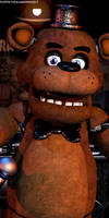 FNaF 1 - Freddy Render