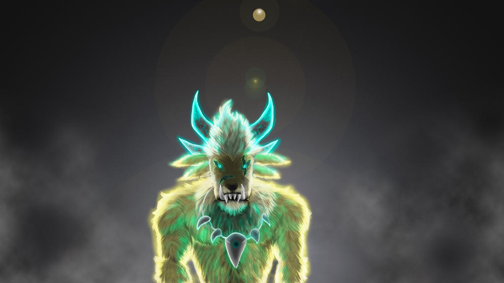 GW2 Guardian Charr by KitsuneNoFoxen