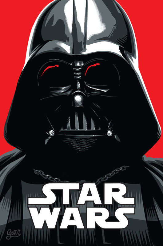 Star Wars - Darth Vader by fernandogoni