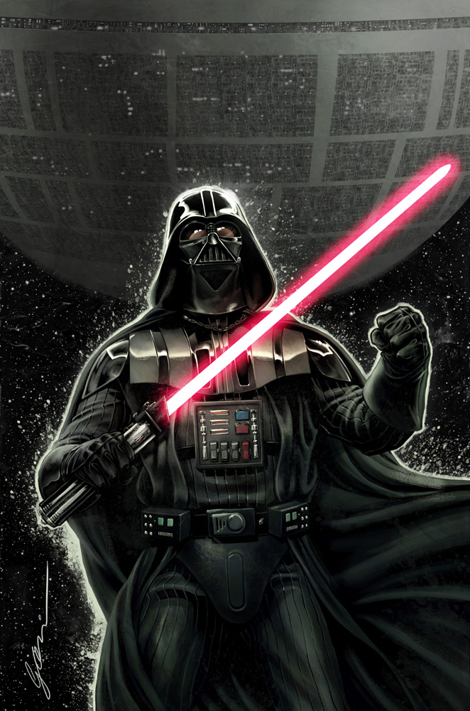 Star Wars - Darth Vader cover by fernandogoni