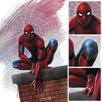 Civil War: Spider-man by fernandogoni