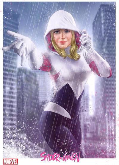 Spider-Gwen poster by fernandogoni