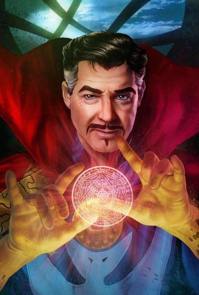 Doctor Strange by fernandogoni