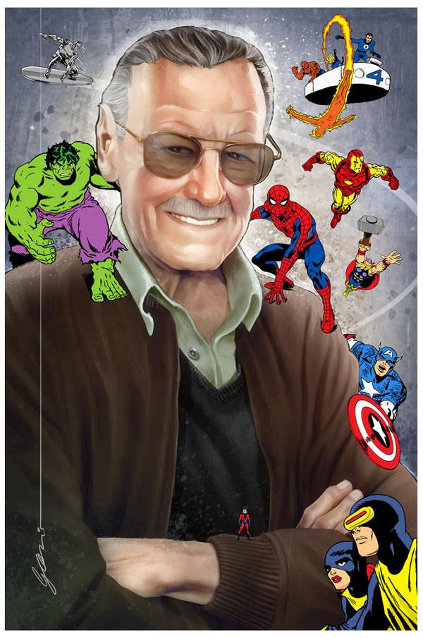 Stan Lee homage by fernandogoni