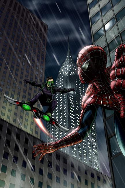 Green Goblin 2014 Suit Spider-man 3 by fernan...