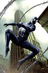 Spider-man Black Vs Sandman ?