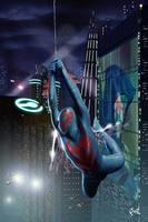 Spider-man 2099 by fernandogoni