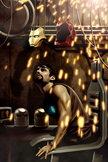 Iron Man - Garage