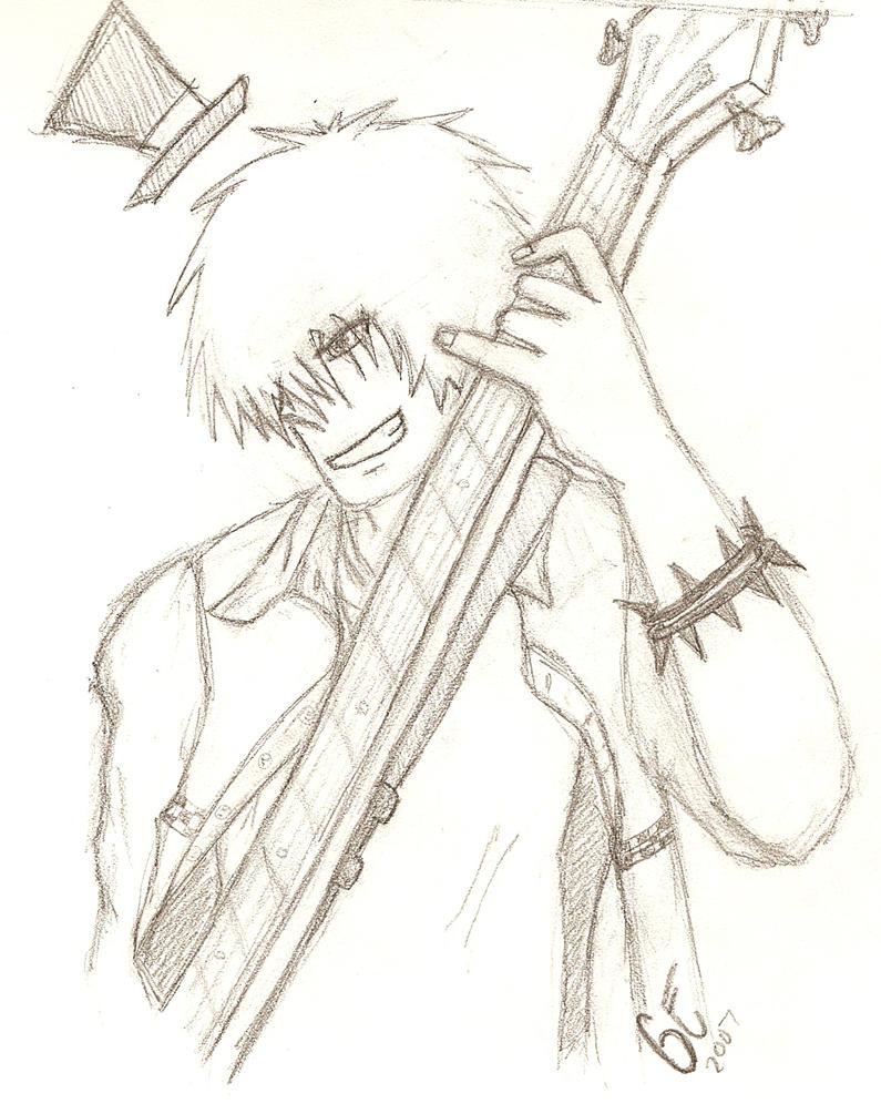 Kris-wilson -anime style- by MurderCr0w