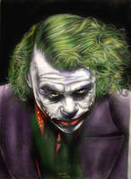 Heath Ledger joker by ultraseven81