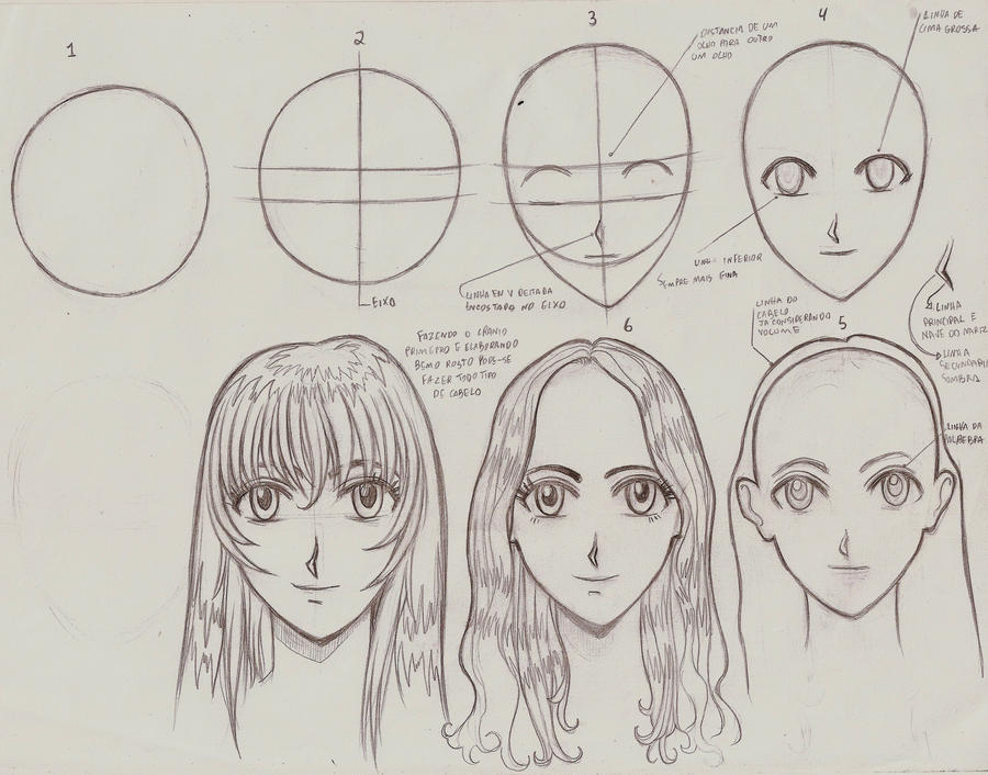 tutorial drawing manga-style h by ultraseven81 on DeviantArt