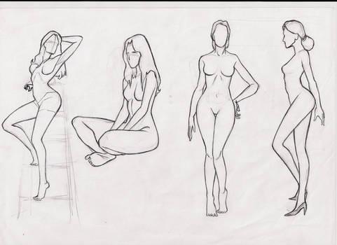 female body studie