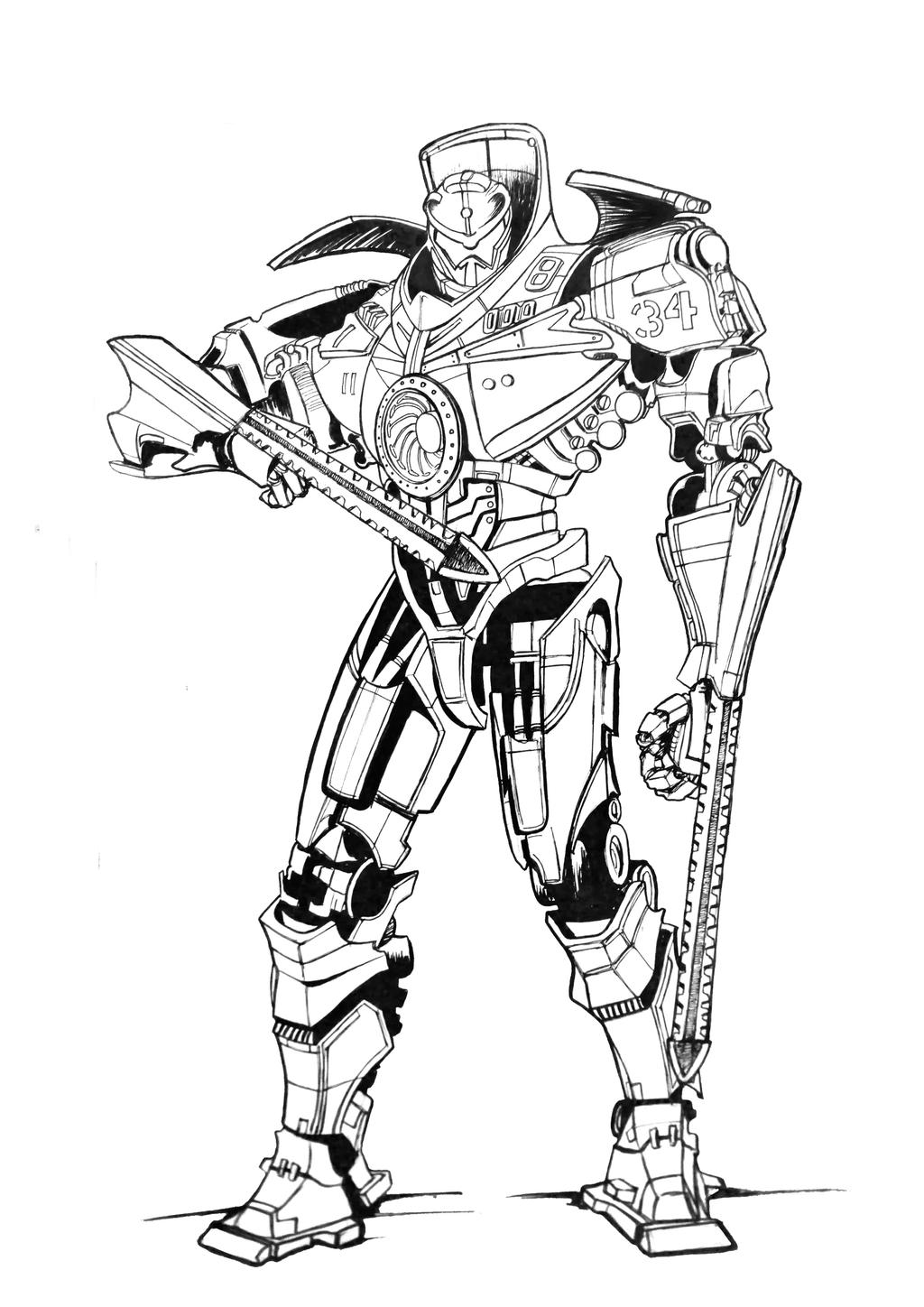 gipsy danger by ultraseven81 on deviantart