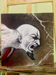 Kratos rage  by ultraseven81