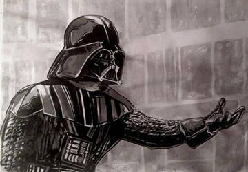 Vader Nanquim by ultraseven81