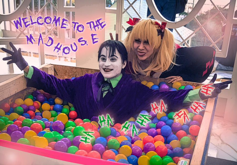 Madhouse Ballpit by NabCosplay