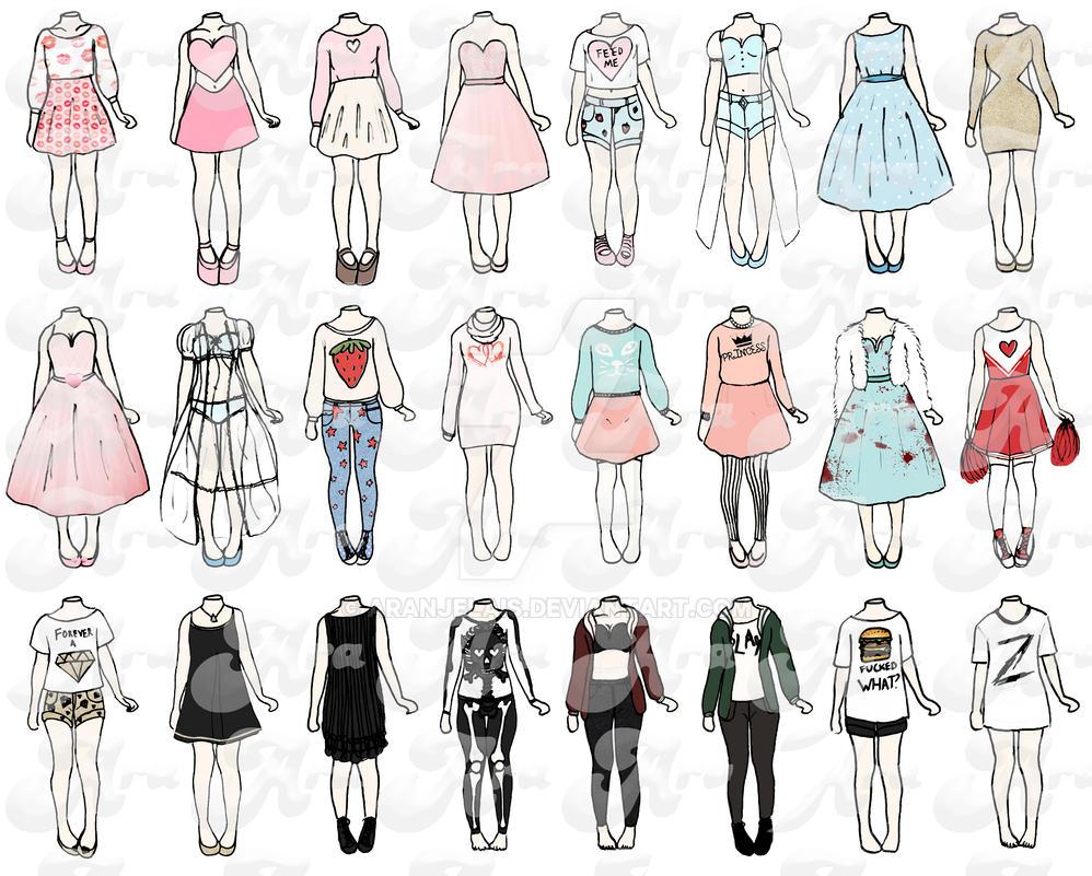 Performance Outfits by ARAnjelais