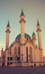 mosque by animaocean