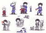 FMA doodles.. by Blacky-Doll