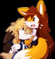 .:Julia and Foxy:.