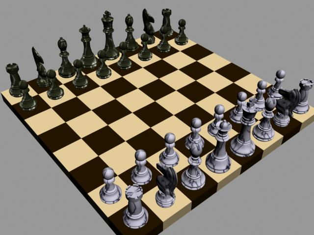 Basic chess board and pieces by faitch on deviantart - Simple chess set ...