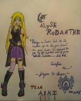 Wonderland girl, Alyse Rodanthe. by AyanaRin