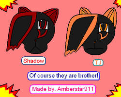 Of course they are brothers by Amberstar911