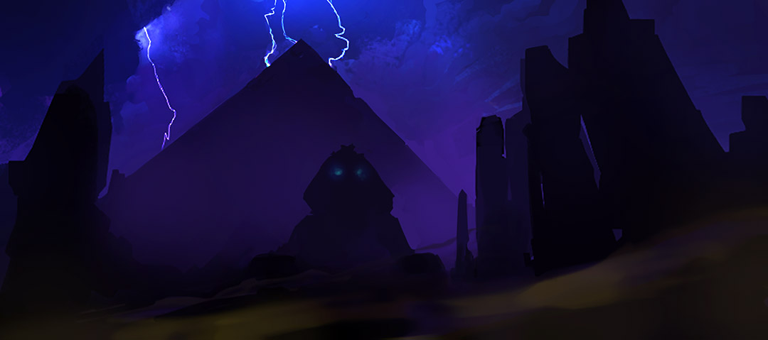 Pyramid Night by ultracold