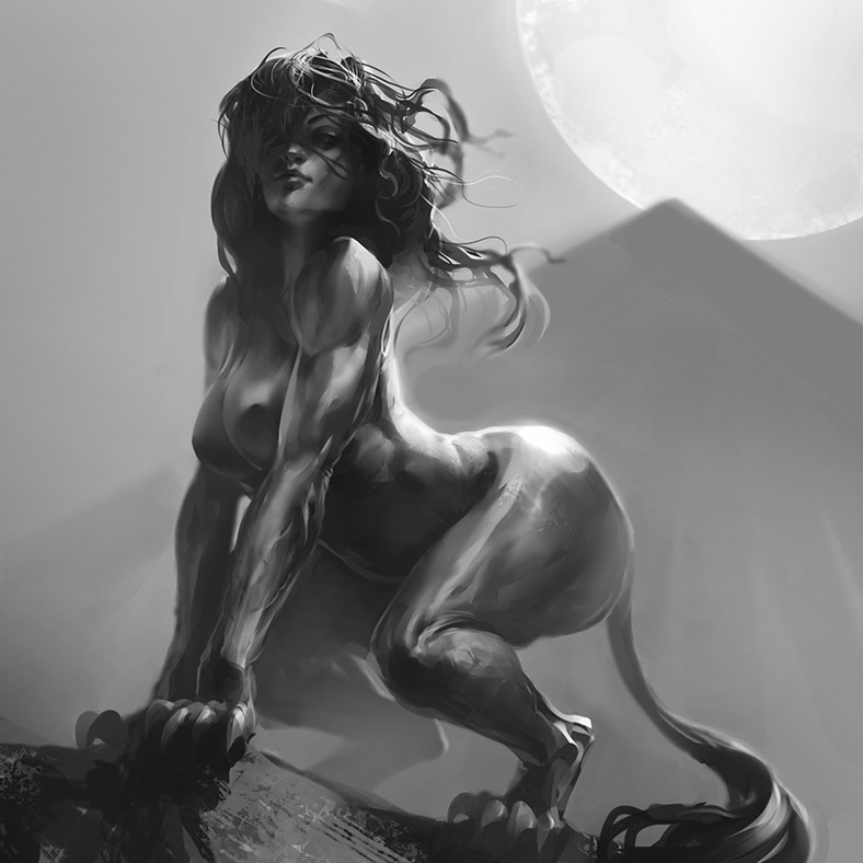 Sphinxgirl by ultracold