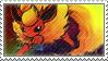 Pkmn Flareon Stamp by vanilla-dog